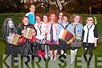 Listowel Halloween Parade : Attending the Annual Listowel halloween Parade on Saturday were in front Anna Sheahan, Mairead Brosnan, Philomena Hickey, Jane Downey, Aisling Keane, Adi Canty & Amy O'Connor. Back :Rachael Benn, Stacey Meaney & Megan O'Donoghue.