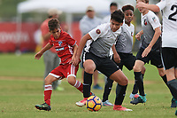 Frisco, TX - October 21, 2017: The U.S. Soccer Development Academy 2017 U-13/U-14 Central Regional Showcase at Toyota Soccer Center.