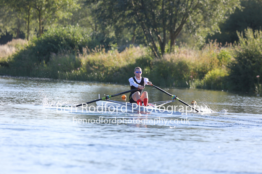 Race: 1  1x (Band 2)  Heat 1<br /> <br /> Peterborough Summer Regatta 2018 - Saturday<br /> <br /> To purchase this photo, or to see pricing information for Prints and Downloads, click the blue 'Add to Cart' button at the top-right of the page.