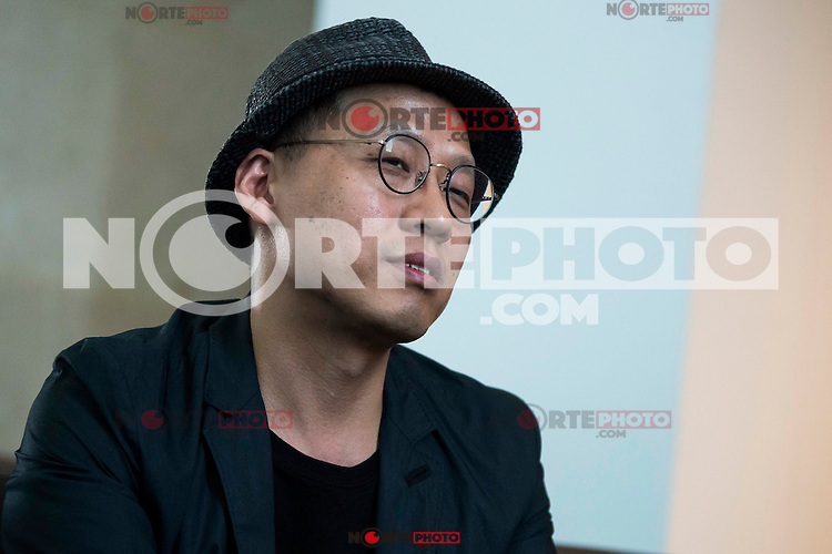 """The director of the film, Kim Sung-Hoon during in an interview during the presentation of the film """"Tunnel"""" at Festival de Cine Fantastico de Sitges in Barcelona. October 14, Spain. 2016. (ALTERPHOTOS/BorjaB.Hojas) NORTEPHOTO.COM"""