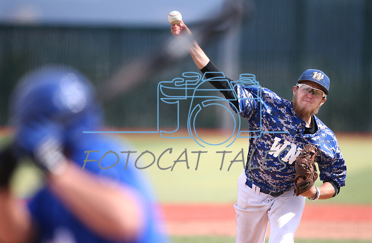 Western Nevada's Josh Mill pitches against College of Southern Nevada at WNC, in Carson City, Nev. on Friday, May 6, 2016. <br />