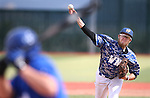 Western Nevada's Josh Mill pitches against College of Southern Nevada at WNC, in Carson City, Nev. on Friday, May 6, 2016. <br />Photo by Cathleen Allison/Nevada Photo Source