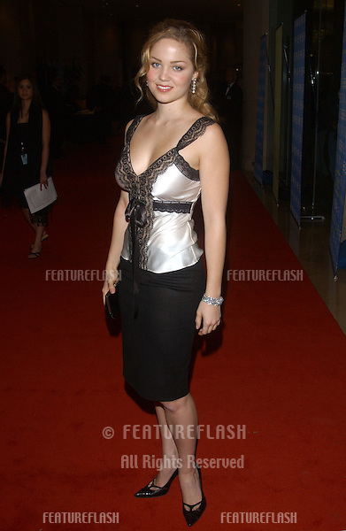 Actress ERIKA CHRISTENSEN at the 18th Annual American Cinematheque Gala honoring Nicole Kidman..November 14, 2003