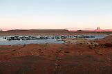 USA, Arizona, Page, Lake Powell, Antelope Point Marina East of Page