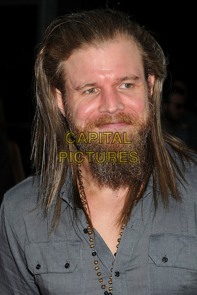 "Ryan Hurst.""Sons Of Anarchy"" Season 4 Premiere Screening held at the Cinerama Dome, Hollywood, California, USA..August 30th, 2011.headshot portrait grey gray beard facial hair .CAP/ADM/BP.©Byron Purvis/AdMedia/Capital Pictures."