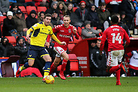 Joe Rothwell of Oxford United in action during Charlton Athletic vs Oxford United, Sky Bet EFL League 1 Football at The Valley on 3rd February 2018