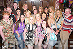 Bash: Having a great night at her 30th birthday in The Blasket Inn, Tralee, on Friday evening was Michelle Greaney of Blennerville (front centre), along with family and friends..
