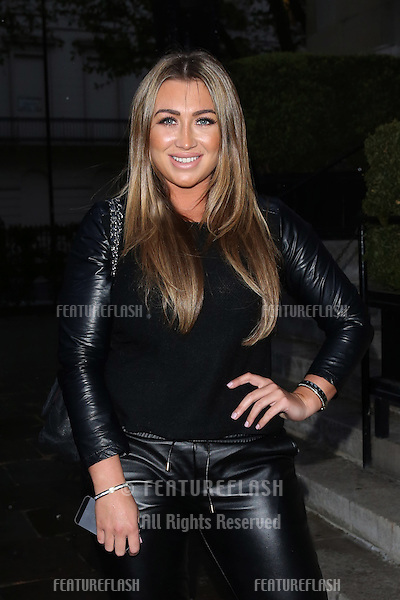 Lauren Goodger at the Superdrug 50th birthday party held at One Marylebone, London. 23/04/2014 Picture by: Henry Harris / Featureflash