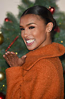 "LONDON, UK. November 21, 2018: Melody Thornton at the ""Surviving Christmas with the Relatives"" premiere at the Vue Leicester Square, London.<br /> Picture: Steve Vas/Featureflash"