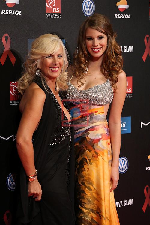 4th Annual Gala SIDA Barcelona 2013.<br /> Marisa Serrano &amp;  Andrea Huisgen.