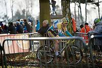 Ellen Van Loy (BEL/Telenet-Fidea) leading the race<br /> <br /> GP Sven Nys 2015