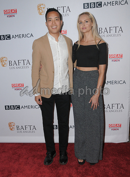 15 September  2017 - Beverly Hills, California - Alan Yang. 2017 BAFTA Los Angeles BBC America TV Tea Party  held at The Beverly Hilton Hotel in Beverly Hills. Photo Credit: Birdie Thompson/AdMedia