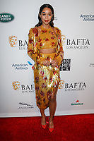 05 January 2019 - Los Angeles, California - Laura Harrier. the BAFTA Los Angeles Tea Party held at the Four Seasons Hotel Los Angeles. Photo Credit: AdMedia