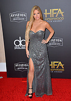 LOS ANGELES, CA. November 04, 2018: Wendy Starland at the 22nd Annual Hollywood Film Awards at the Beverly Hilton Hotel.<br /> Picture: Paul Smith/Featureflash