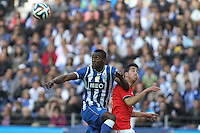 Porto's Colombian forward Jackson Martinez during the League Cup football match between FC Porto and SL Benfica at Dragão Stadium in Porto on April 27, 2014 (PC: Pedro Lopes/Brazil Photo Press)