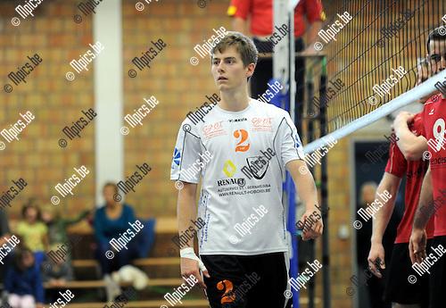 2013-09-28 / Volleybal / seizoen 2013-2014 / VC Herenthout / Mich&auml;el Van Grieken<br /><br />Foto: Mpics.be