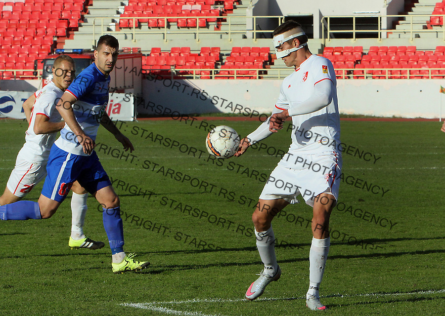 Fudbal Super liga season 2015-2016<br /> Radnicki (Nis) v Borac<br /> Radnicki Nikola Asceric<br /> Nis, 1.11.2015.<br /> foto: Sasa Djordjevic/Starsportphoto &copy;