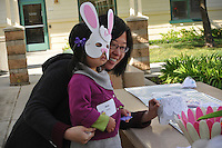 The Harker School - Alumni - Alumni Easter Egg Hunt, held on Harker's newest campus, Union Avenue - .Photo by Samantha Hoffman, grade 12