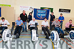 Rowing to the Dail?<br /> Seen at the Coastal Rowing Championships Exhibition at Glenbeigh Sports Hall on Sunday<br /> L-R John Francis Flynn, Brendan Cronin, Brendan Ferris, Brendan Griffin, Michael Cahill &amp; Damien Quigg.