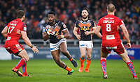 Picture by Alex Whitehead/SWpix.com - 19/03/2017 - Rugby League - Betfred Super League - Salford Red Devils v Castleford Tigers - AJ Bell Stadium, Salford, England - Castleford's Gadwin Springer.