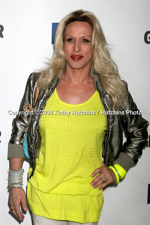 "Alexis Arquette  arriving at the ""Glamour Reel Moments"" Premieres of a Series of Short Films Written & Directed by Women in Hollywood at the Director's Guild Theater in Los Angeles, CA.October 14, 2008.©2008 Kathy Hutchins / Hutchins Photo...                ."