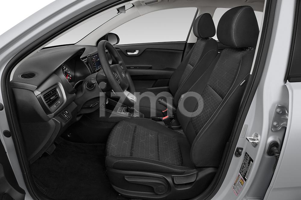 Front seat view of a 2019 KIA Rio S 4 Door Sedan front seat car photos