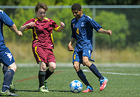 Action from the Special Olympics NZ National Summer Games 2017 football at Wakefield Park in Wellington, New Zealand on Tuesday, 28 November 2017. Photo: Dave Lintott / lintottphoto.co.nz