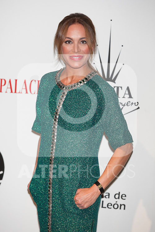 Gema Ruiz attends Santiago Palacio´s fashion show in Madrid, Spain. November 13, 2014. (ALTERPHOTOS/Victor Blanco)