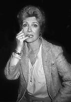 Gloria DeHaven 1981<br /> Photo By John Barrett/PHOTOlink.net / MediaPunch