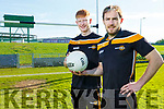 Anthony Darmody (Rathmore) and Jason Hickson (Annascaul) who are on the 2019 Underdogs TG4 team that will play Mayo on Saturday in Castlebar