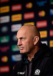 ENG - Newcastle upon Tyne, England, October 08: During the Media Conference of Team Scotland on October 8, 2015 at St. James Park in Newcastle upon Tyne, England. (Photo by Dirk Markgraf / www.265-images.com) *** Local caption *** head coach Vern Cotter of Scotland
