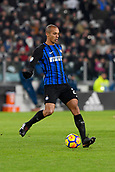 9th December 2017, Allianz Stadium, Turin, Italy; Serie A football, Juventus versus Inter Milan; Miranda on the ball