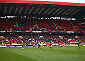 24th March 2018, The Valley, London, England;  English Football League One, Charlton Athletic versus Plymouth Argyle; Many empty seats inside The Valley Stadium