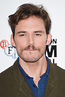 "Sam Claflin<br /> at the London Film Festival photocall for ""Their Finest"", Mayfair Hotel, London.<br /> <br /> <br /> ©Ash Knotek  D3177  13/10/2016"