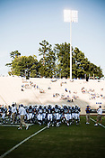 September 6, 2008. Durham, NC..  College football in the Triangle..Duke University lost a home game 20- 24 to Northwestern.. Warmups.