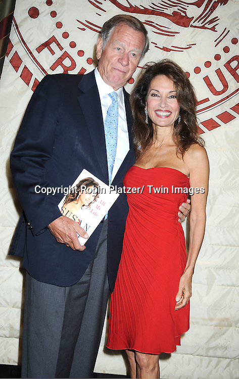 """Susan Lucci and  husband Helmet Huber at her book signing for her new book """"All My Life""""  at The Friars Club in New York City on September 7, 2011."""