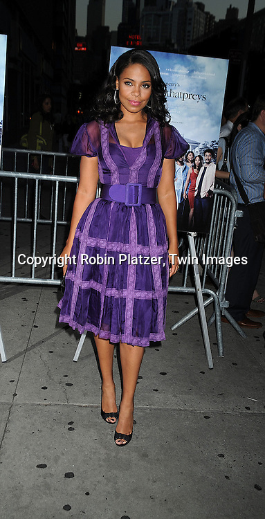 "actress Sanaa Lathan..arriving at The Special Screening of ""Tyler Perry's The Family That Preys"" on September 8, 2008 at The AMC Loews Lincoln Center in New York City. ....Robin Platzer, Twin Images"