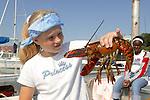 Natasha Beeler W/ Lobster