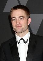 HOLLYWOOD, CA - NOVEMBER 11: Robert Pattinson at the AMPAS 9th Annual Governors Awards at the Dolby Ballroom in Hollywood, California on November 11, 2017. <br /> CAP/MPI/DE<br /> &copy;DE/MPI/Capital Pictures