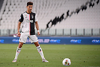 Cristiano Ronaldo of Juventus during the Serie A football match between Juventus FC and UC Sampdoria at Juventus stadium in Turin (Italy), July 26th, 2020. Play resumes behind closed doors following the outbreak of the coronavirus disease. <br /> Photo Federico Tardito / Insidefoto