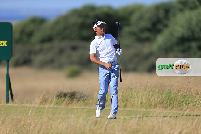 Kenichi KUBOYA (JAP) during round one of  The 142th Open Championship Muirfield, Gullane, East Lothian, Scotland 18/7/2013<br /> Picture Eoin Clarke www.golffile.ie: