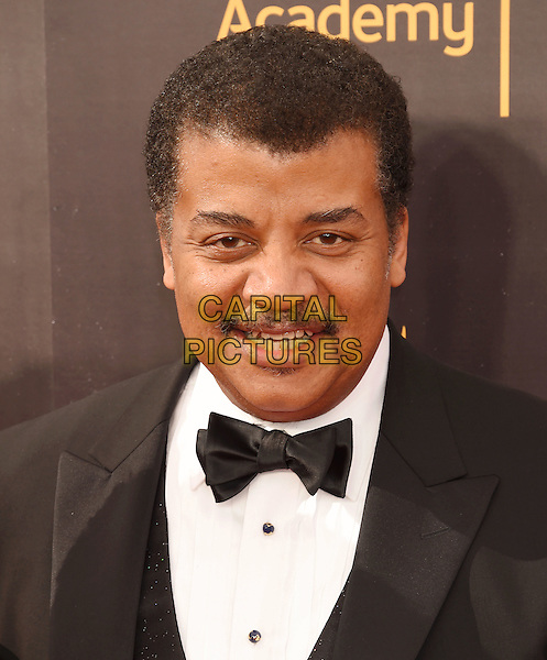 LOS ANGELES, CA - SEPTEMBER 11: Astrophysicist/cosmologist Neil deGrasse Tyson attends the 2016 Creative Arts Emmy Awards held at Microsoft Theater on September 11, 2016 in Los Angeles, California.<br /> CAP/ROT/TM<br /> &copy;TM/ROT/Capital Pictures