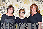 Majella Murphy, Margaret Curtin and Noreen Twomey former class mates at the Boherbue Comprehensive school from 1978 to 1983 who held a 30th anniversary reunion in the Malton Hotel on Saturday night