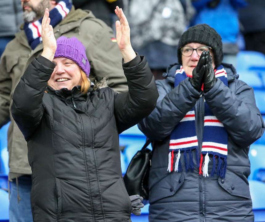 Bolton Wanderers fans applaud their team at full time<br /> <br /> Photographer Alex Dodd/CameraSport<br /> <br /> The EFL Sky Bet League One - Bolton Wanderers v Northampton Town - Saturday 18th March 2017 - Macron Stadium - Bolton<br /> <br /> World Copyright &copy; 2017 CameraSport. All rights reserved. 43 Linden Ave. Countesthorpe. Leicester. England. LE8 5PG - Tel: +44 (0) 116 277 4147 - admin@camerasport.com - www.camerasport.com