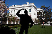 United States President Barack Obama practices his pitching with TK in the Rose Garden of the White House, Wednesday, March 31, 2010. Later that day, the President threw out the first pitch on opening day of the baseball season prior to the game between the Washington Nationals and the Philadelphia Phillies. .Mandatory Credit: Pete Souza - White House via CNP