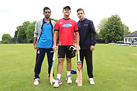 Hornchurch players  pose for a photo during Shenfield CC (batting) vs Hornchurch CC (Bowling) ,Shepherd Neame Essex League Cricket at Chelmsford Road on 12th May 2018
