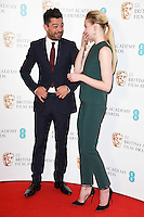 Dominic Cooper &amp; Sophie Turner at the announcement of the nominations for the 2017 EE BAFTA Film Awards, BAFTA, London, UK. <br /> 10th January  2017<br /> Picture: Steve Vas/Featureflash/SilverHub 0208 004 5359 sales@silverhubmedia.com