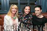 Enjoying the Ashe Hotel Gin Festival on Friday were Melanie O Donnell, Doireann Barretts and Caroline Drummey