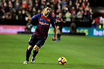 FC Barcelona's Luis Suarez during La Liga match between Rayo Vallecano and FC Barcelona at Vallecas Stadium in Madrid, Spain. November 03, 2018. (ALTERPHOTOS/A. Perez Meca)