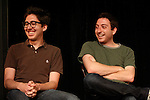 The College Humor show talks to a packed crowd at Sketchfest NYC, 2009. Sketch Comedy Festival at the Upright Citizen's Brigade Theatre, New York City.